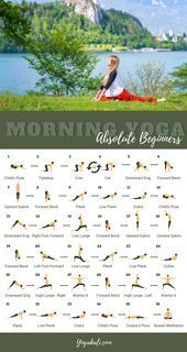 "simple ""good morning"" yoga flow for beginners this athome"
