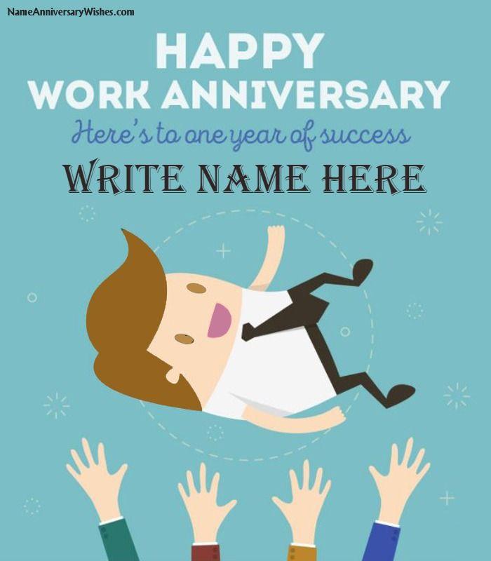 Work anniversaries messages
