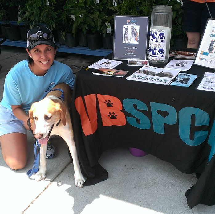 Business Manager Trina Duncan Volunteered With The Virginia Beach Spca For A Dog Adoption Event At Whole Foods Dog Adoption Event Dog Adoption Worlds Of Fun
