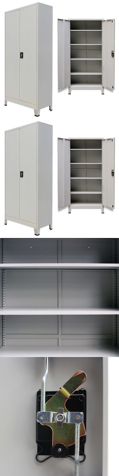 Cabinets And Cupboards 20487 Vidaxl Office Filing Cabinet Locker 2 Door Steel File Organizer Storage Cupboard Buy I Home Office Filing Cabinet Filing Cabinet Locker Storage