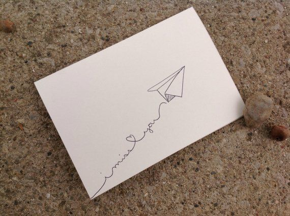 Paper airplane I miss you card, hand drawn, instant download, illustrated card, ... Paper airplane I miss you card, hand drawn, instant download, illustrated card, printable envelope,... ,