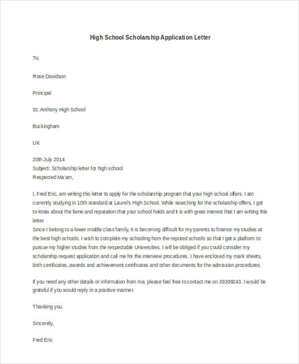 application letter templates doc free amp premium for scholarship - resume high school diploma