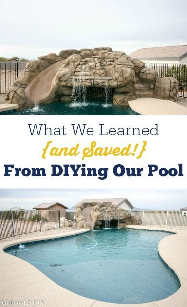 Photo of Should You Build Your Own Pool? What We Learned And Saved – Addicted 2 DIY