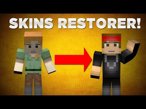 How To Fix And Restore Your Minecraft Skin For Servers QUICK - Skins minecraft para la 1 8