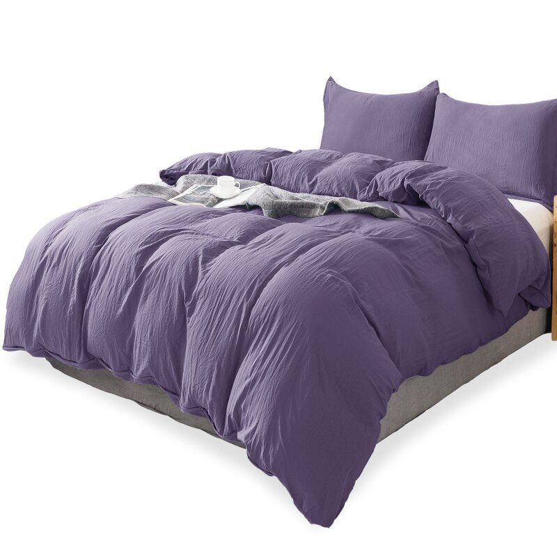 Brayden Studio Zygi Microfiber Duet Cover Set Reviews Wayfair Duvet Bedding Bed Duvet Covers Comforter Cover
