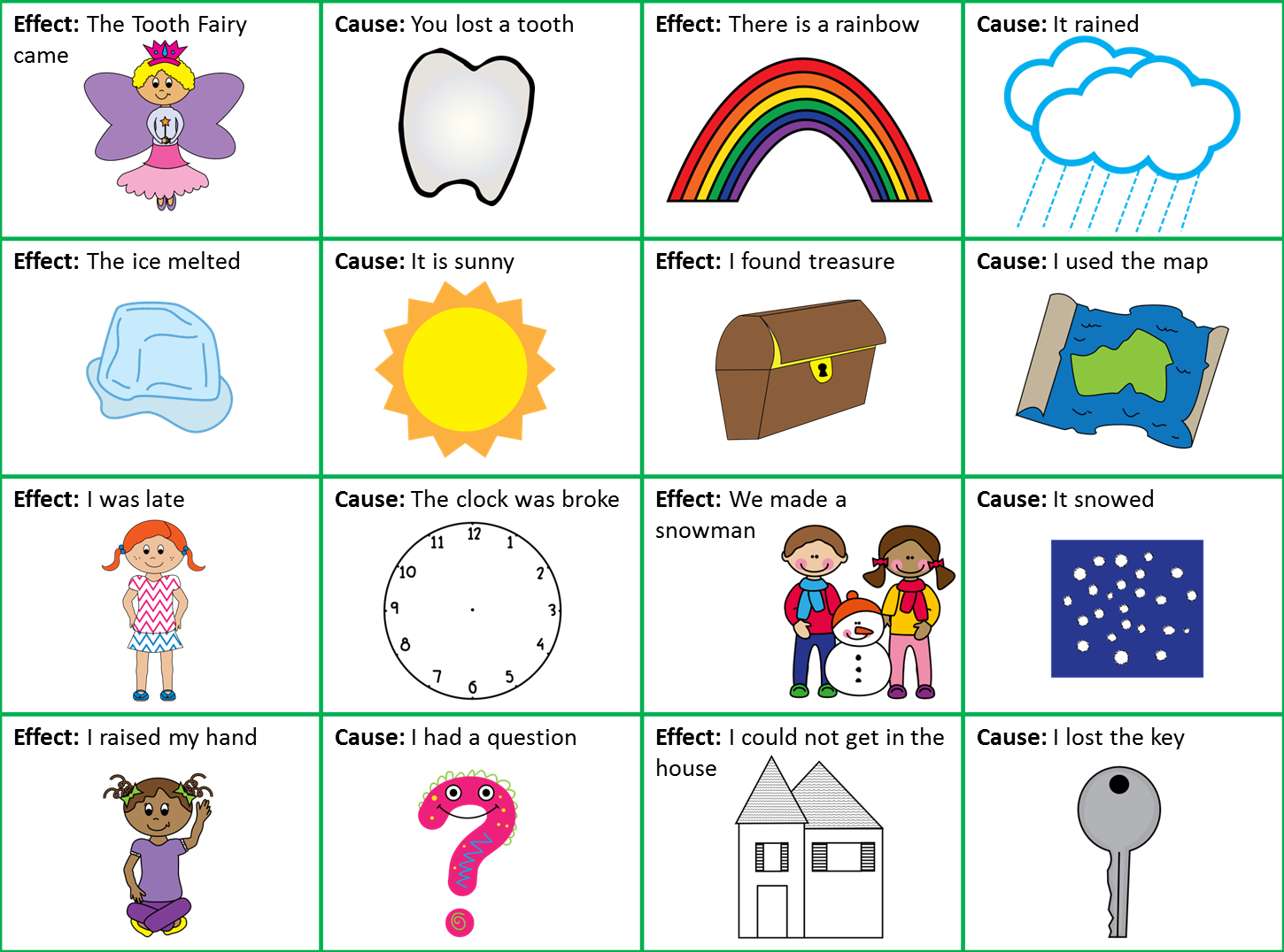 cause effect cause effect cards 1 png crazy first graders cause effect cause effect cards 1 png
