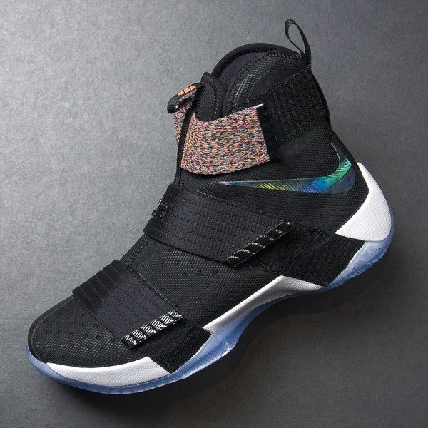 check out acb5c 6f3c6 Nike Lebron Soldier 10 (Black/Black-Cosmic Purple) $130 ...