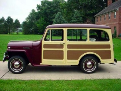 1947 Willys Overland Jeep Station Wagon Woodie Woody Willys