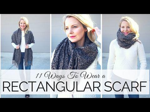 20 maneras de usar una bufanda y para qué son buenas   Justine Leconte - YouTube