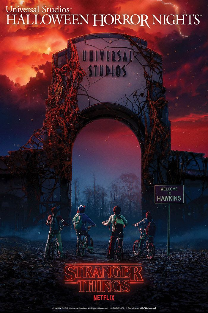 Stranger Things at Halloween Horror Nights 2018