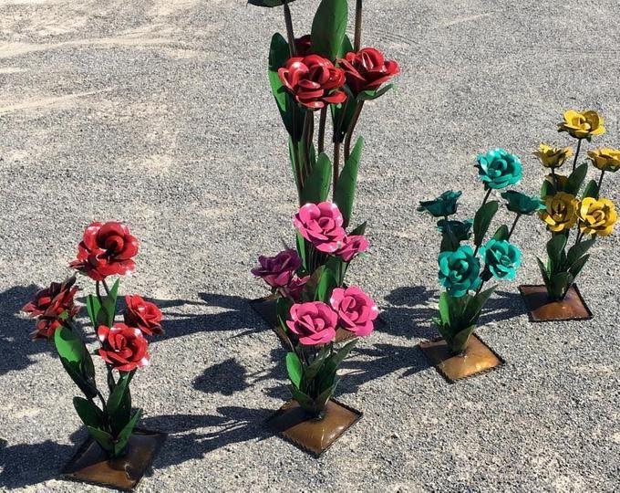Baby rot rustikal Agave Metall Garten Skulptur Garten   Etsy