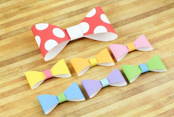 Download the template pdf free i first found the 3d paper bow printable bow tie template from waffle flower papercrafts pronofoot35fo Choice Image