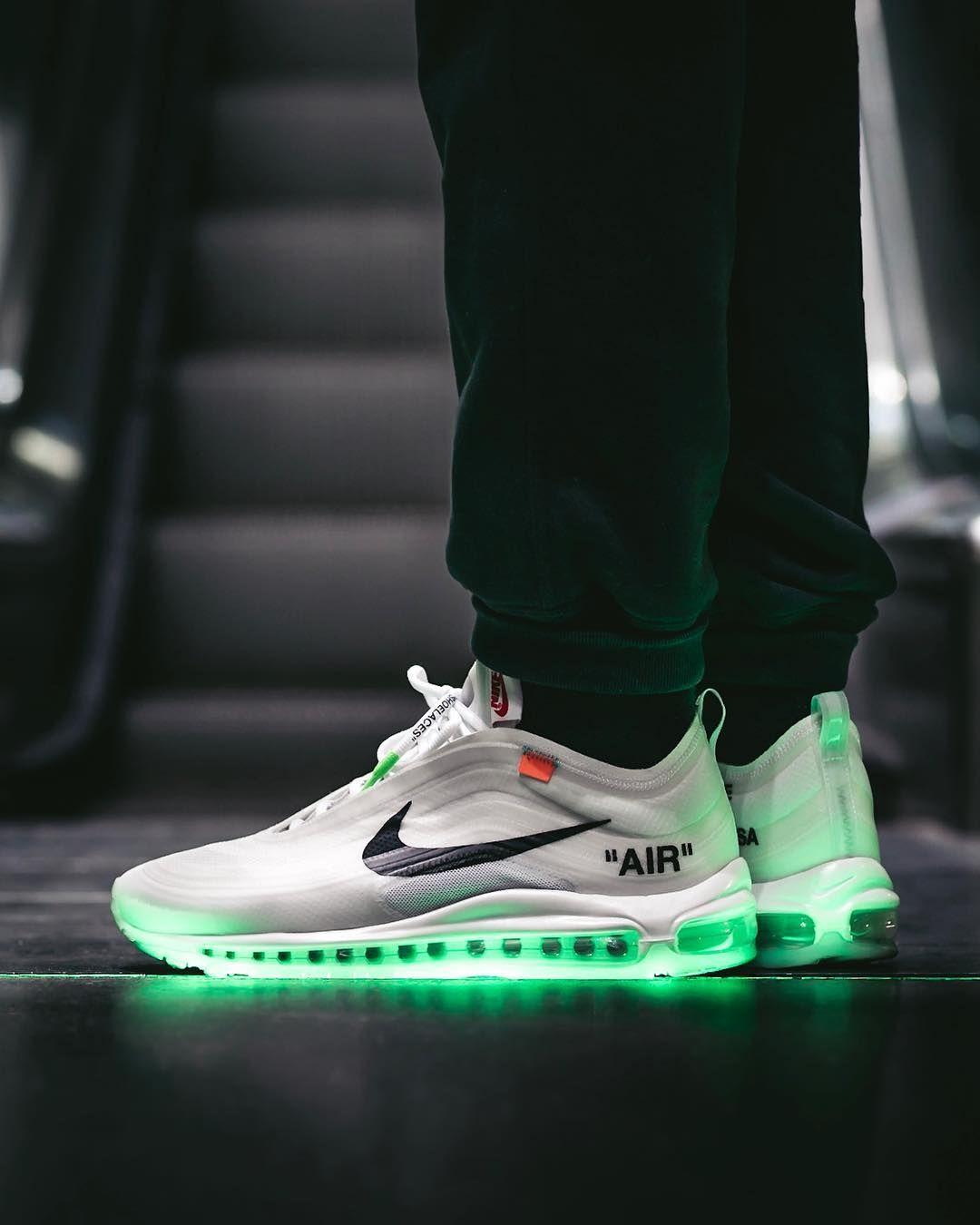 Grailify Sneaker Release Kalender Nike Air Max Weiss Off White Schuhe Nike Air Max