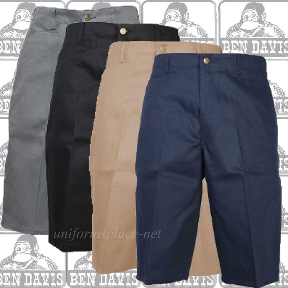 Ben Davis Work Pants Men/'s Original Ben/'s Cotton Blend Heavy Weight Twill Pant