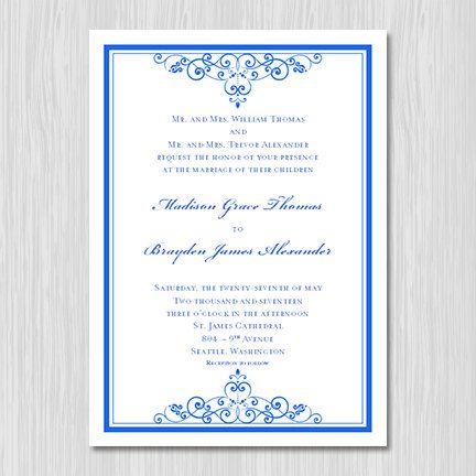 This Item Is Unavailable Vintage Wedding Invitations Royal Blue Wedding Invitations Classic Wedding Invitations