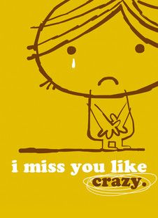 Miss You Like Crazy Cards Miss You Miss You Mom Miss You Dad