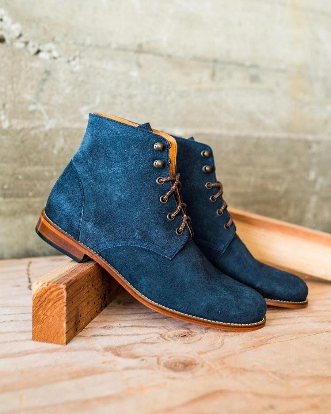 af9d835bb588b Trench Boot from  tawnygoods ....love the navy shade to them.  boots ...