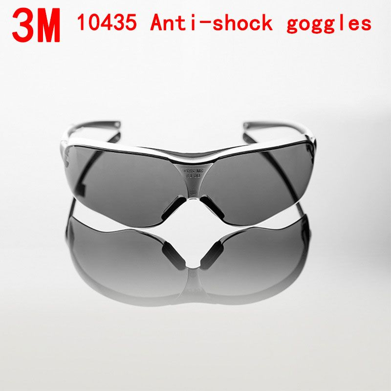 3m 10435 protective glasses safety gray pc prevent mist