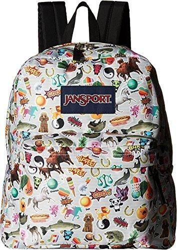 de9bd81f16 JanSport Unisex Spring Break Multi Stickers Backpack