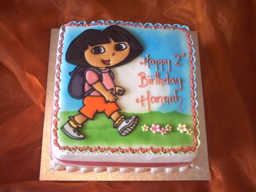 Dora the Explorer Birthday Cake Alannahs Birthday Pinterest