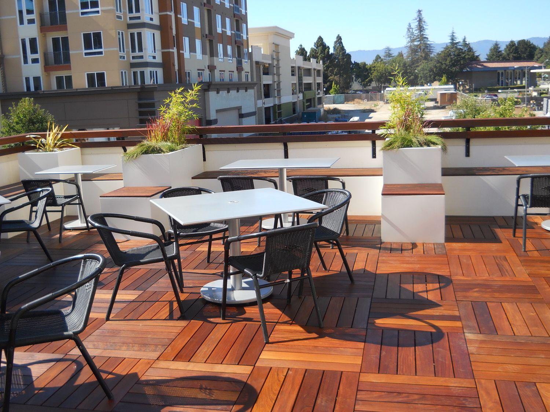 Sunnyvale Corporate Rooftop Deck Deck Design Patio Outdoor Deck