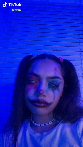 Tumblrgxals Tiktok Video Halloween Makeup Clown Scary Clown Makeup Halloween Makeup Pretty