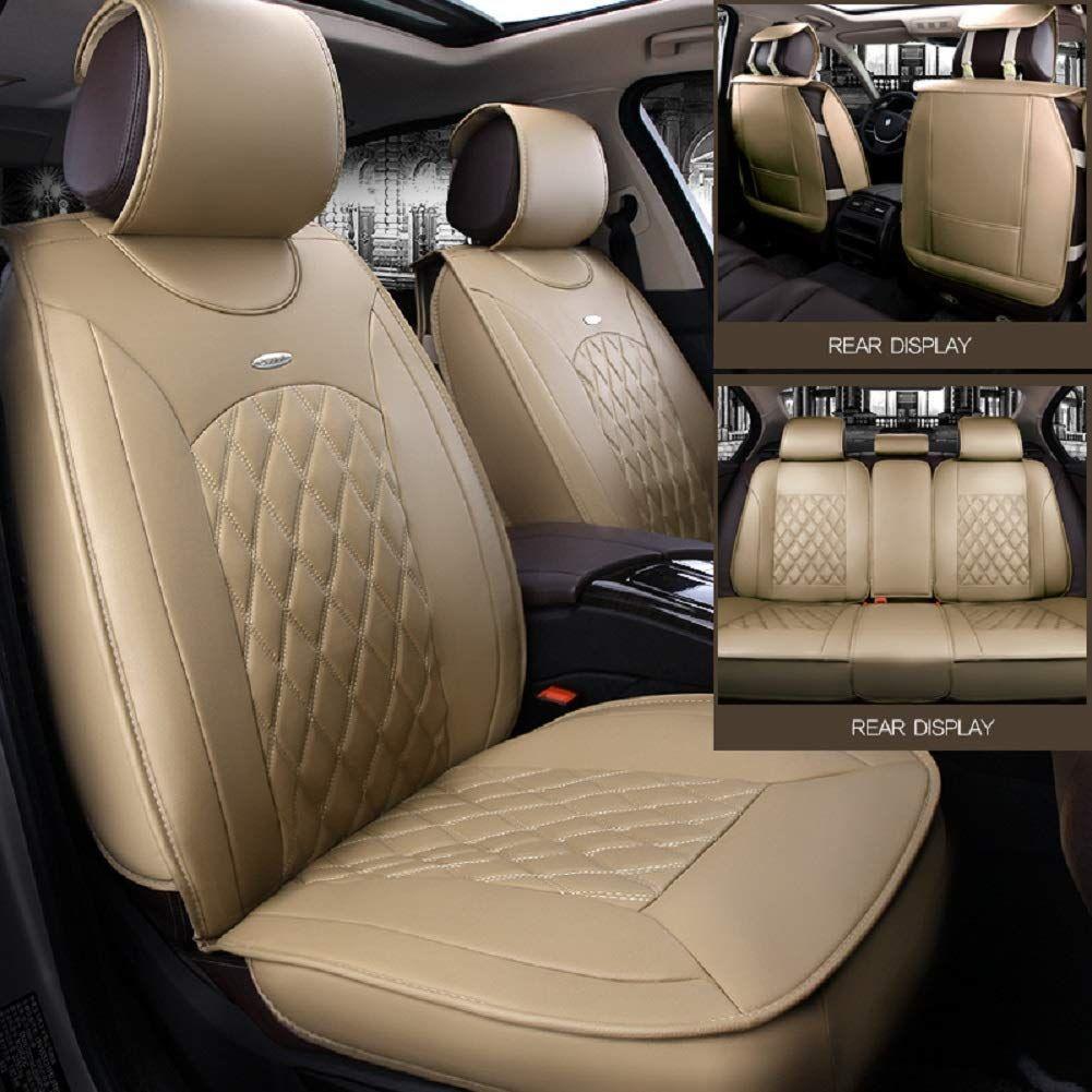 Black,Red,Beige Full Set Universal Fit 5 Seats Car 3D