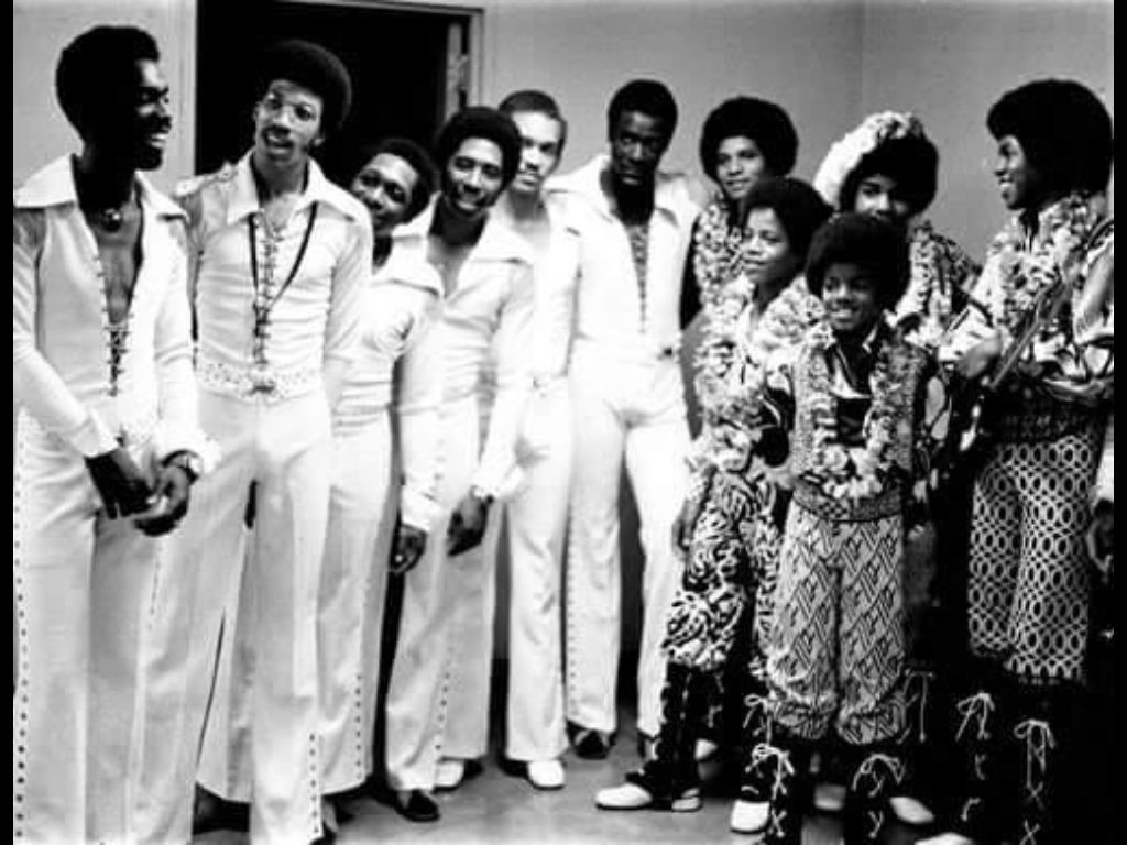 The Comodores and The Jackson 5