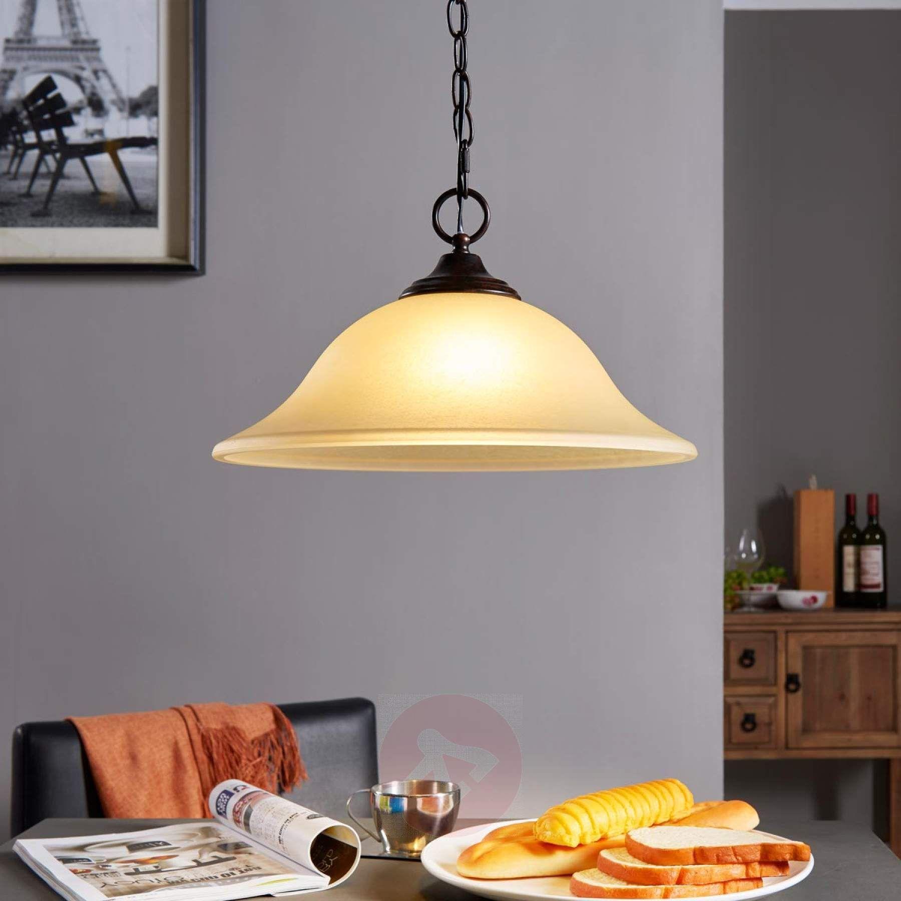 led pendelleuchte svera mit schirm aus scavoglas f r eine behagliche beleuchtung nicht nur des. Black Bedroom Furniture Sets. Home Design Ideas