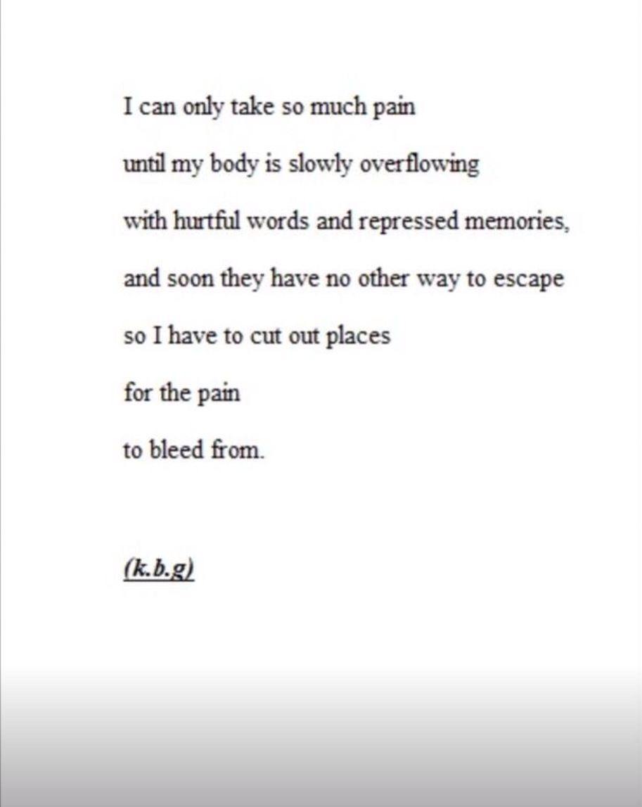 Emo quotes about cutting tumblr emo quote cutting sad arm - Depression Quote Cutting Cutting Quotesemo