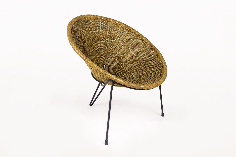 Roberto Mango Club Chair, circa 1950, Italy (mit Bildern