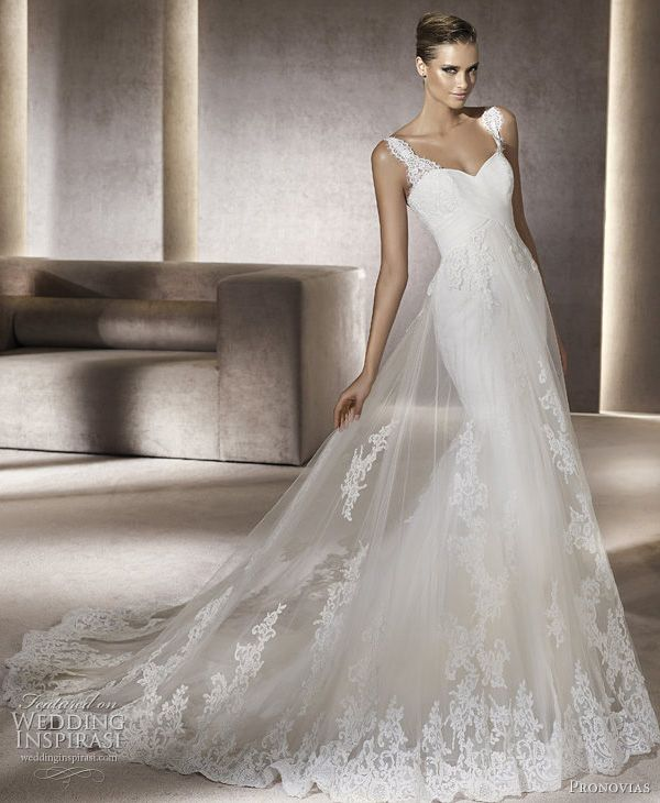 pronovias 2012 advance bridal collection — wedding dresses from