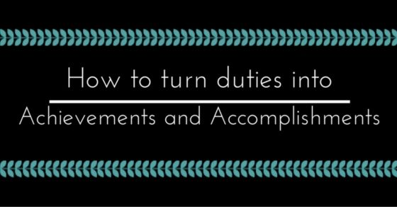 Here is a list of ways in which you can turn the duties which have