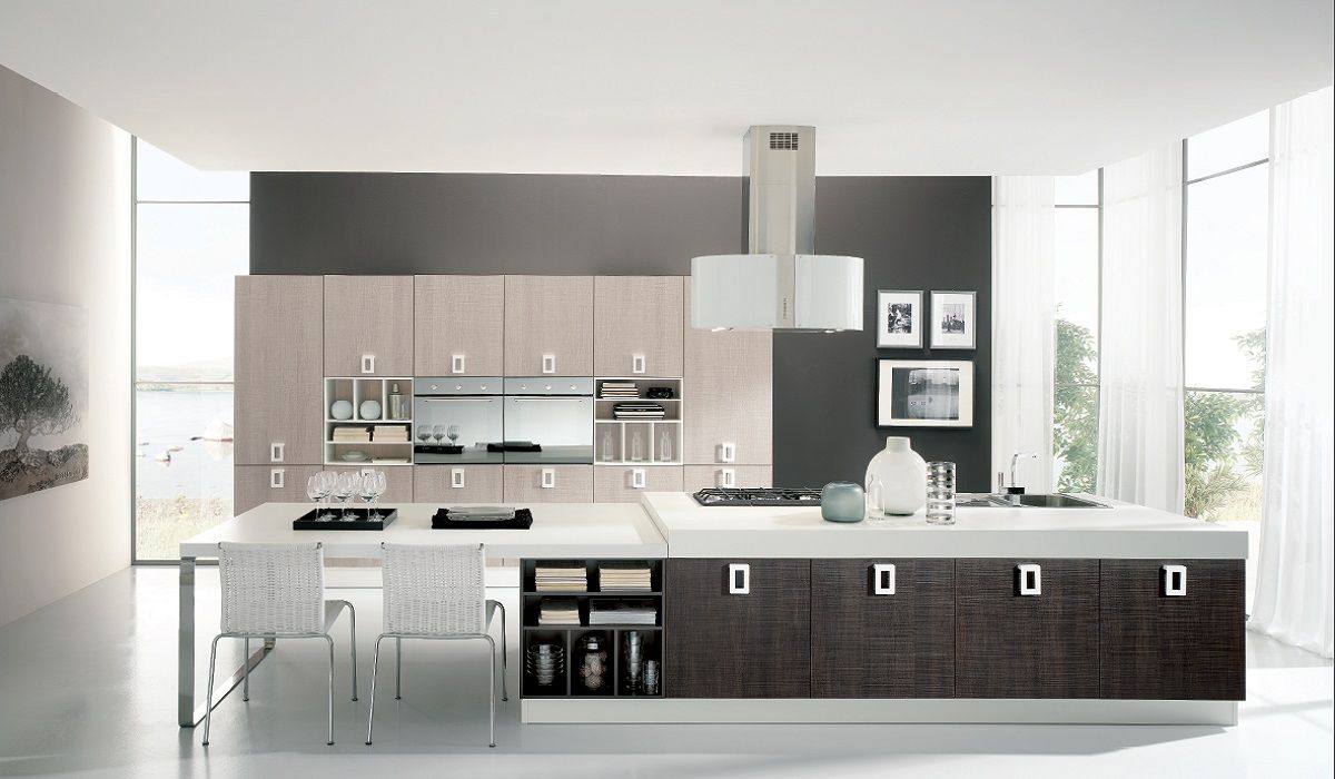 Cucinesse: #cucina moderna EDEN - Versatile e raffinata ...