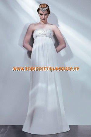 Bari Jay White Robe de Mariée - Style 59047 | robe de mariée pas ...