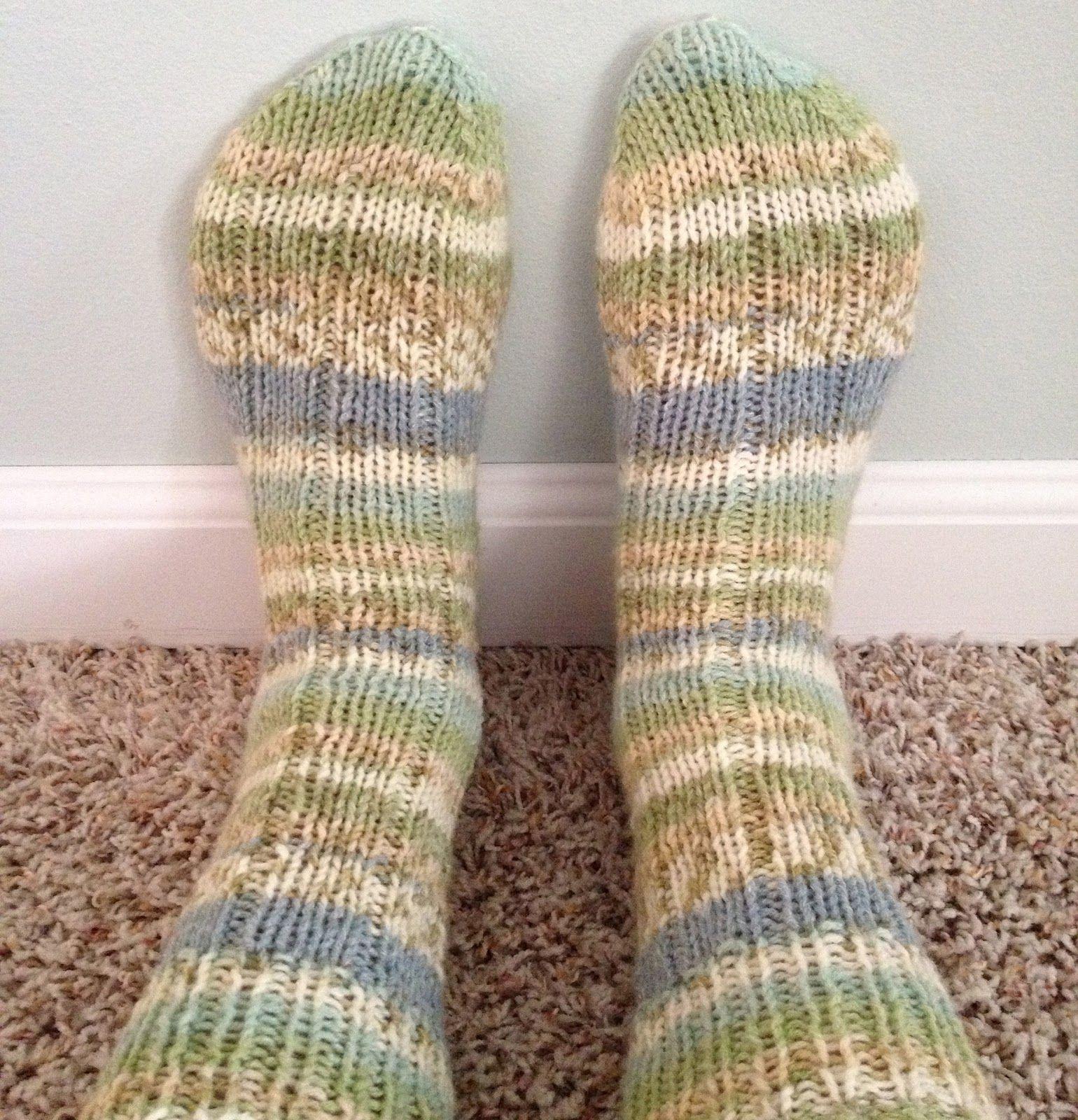 Knit 2knce Socks Christinapurls Dk Ribbed Sock Pattern Free