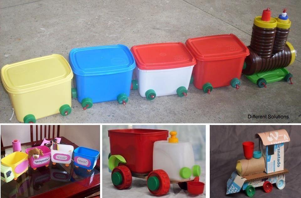 Riciclare contenitori By facebook