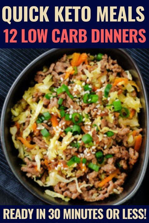 12 Quick Keto Dinner Recipes For Those Nights When You Have Zero Time images