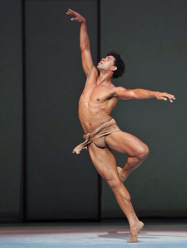 Italy ballet nude men