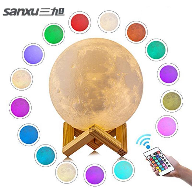 Motion Sensor 3d Night Light Moon Lamp Usb Led Lights For Home Lamps Usb Led Lamp Luminaria Moon Lamp Moon Light Lamp Baby Night Light 3d Night Light