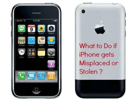 Track your stolen mobile device with Find my app. It is