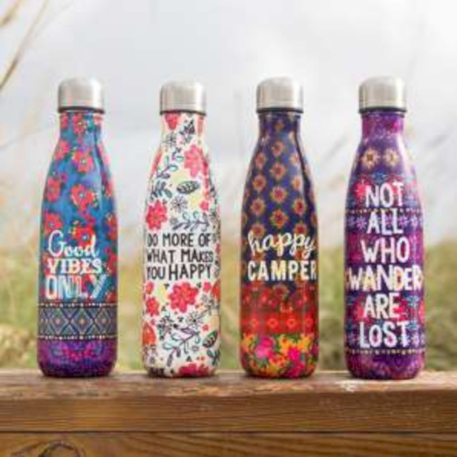 60 Creative Diy Personalized Water Bottle Ideas Double Wall