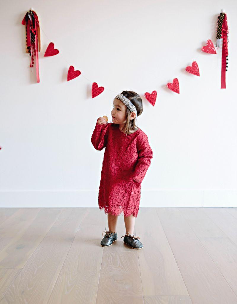 girls valentines day dress valentines day outfits for girls valentines day fashion for kids - Girls Valentine Outfits