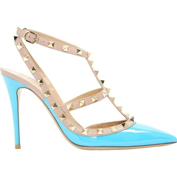 Pre-owned - Rockstud leather heels Valentino