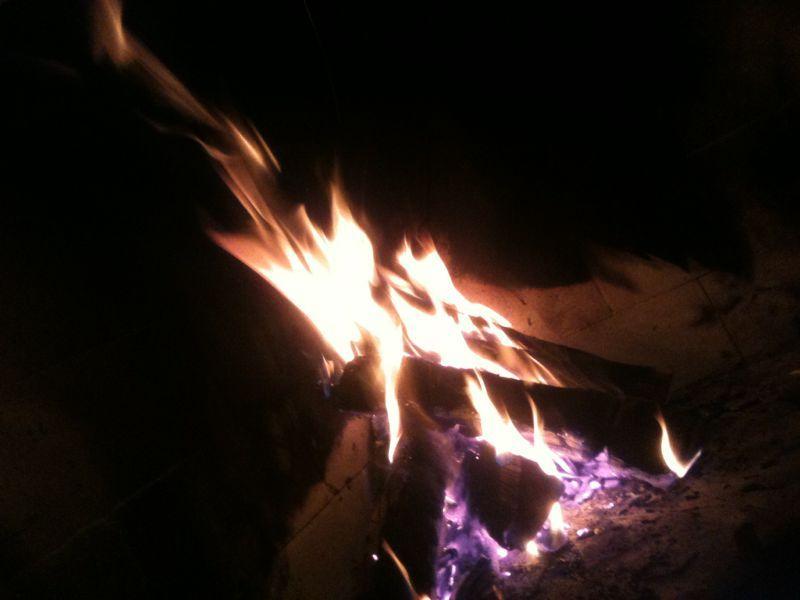 Fire that a friend sent me