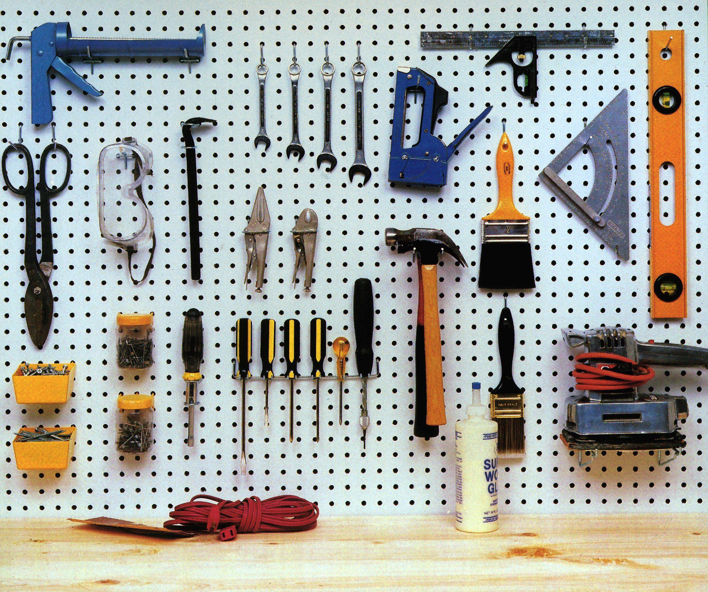 Crawford 1843B Pegboard Organizer, 43-Piece | AmazonSupply.com | For ...