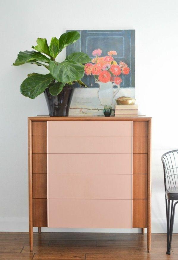 alte möbel neu gestalten holz kommode restaurieren   Ideen aus Holz ...