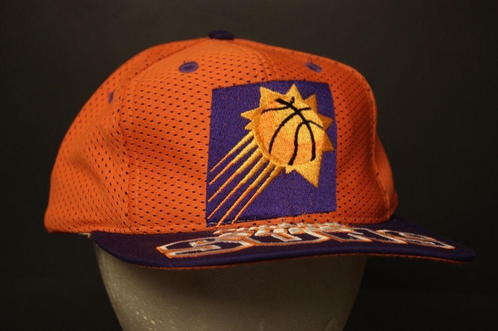 Vintage Phoenix Suns Snapback Hat Baseball Cap Mesh Big Logo Retro Limited  Run  TheGame   e152dc87ecde
