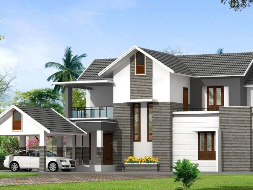 New Minimalist 2nd Floor House Designs