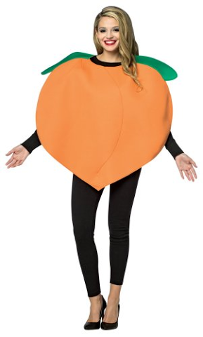 Halloween Pear Slice Costume Juniors Soft T Shirt